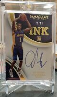 2015-16 Panini Immaculate INK #21/60 D'Angelo Russell Rookie Autograph *ON CARD*