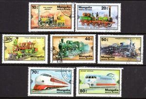 Mongolia 1979 - History of Trains (7) CTO