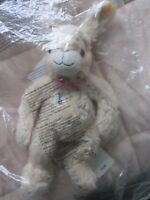 Steiff Original Creme 'Manni Hase' Rabbit Brand New & Sealed With Original Tags