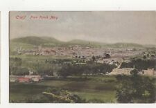 Crieff From Knock Mary Vintage Postcard (Colour)  217a