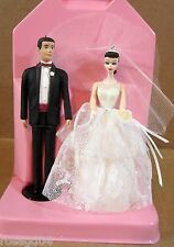 Wedding Day Set of 2 Barbie Doll & Ken Hallmark Keepsake Ornaments Handcraft NEW