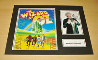 Michael Crawford SIGNED 16x12 Photo Display AUTOGRAPH The Wizard of Oz + COA