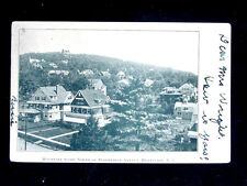 1906 Homes on Mountain Slope North of Bloomfield Ave. Montclair NJ post card