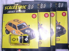 SCALEXTRIC SPAIN ALTAYA COCHES MITICOS RENAULT 5 COPA  4 BLISTERS  LTED,ED  MINT