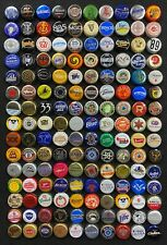 150 All Different Worldwide bottle caps/crowns, mostly obsolete - some rare