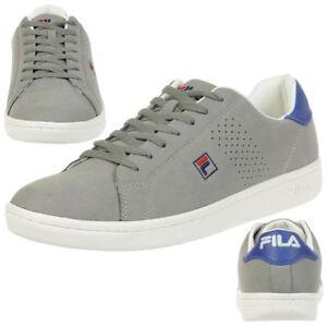 Fila Crosscourt 2 Low Sneakers grau/violett Herrenschuhe