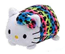 "Ty Teeny Hello Kitty Rainbow Leopard Stuffed Animal Small 4"" Plush 42178"