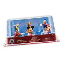 Disney Junior Mickey Figurine Playset Mickey Mouse Clubhouse Minnie Pluto Goofy