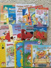 Lot of 15 Martha Speaks, Arthur, Clifford's, Magic School Bus, sesame Street