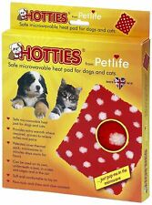 "Petlife Microwavable Hottie Warm Heat Pad 8"" x 9"" For Pet Dog Cat Rabbit etc"