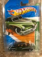 2011 Hot Wheels SUPER TREASURE HUNT USA card GREEN / BLACK TUCKER TORPEDO nice