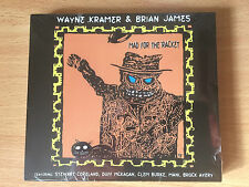 "WAYNE KRAMER & BRIAN JAMES-'""MAD FOR IT""-POLICE-GUNS N ROSES-NEW+SEALED CD"