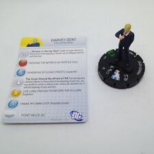 Heroclix The Dark Knight Rises set Harvey Dent #017 Uncommon figure w/card!