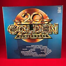 VARIOUS 20 Golden Number Ones 1980 UK vinyl LP EXCELLENT CONDITION sixities 60's