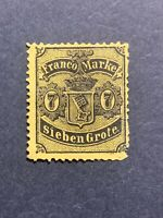 1866-67 BREMEN GERMANY Stamps-COATS OF ARMS