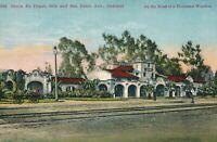 OAKLAND CA – Santa Fe Depot 40th and San Pablo Avenue