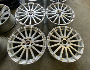 """FORD FOCUS RS MK2 STYLE 18"""" ALLOY WHEELS CONNECT MONDEO VOLVO"""