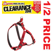 CLEARANCE - FERPLAST Cricket EXTRA LARGE Dog Harness RED - NOW 1/2 PRICE