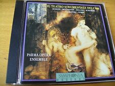 IL TEATRO STRUMENTALE DELL'800 PARMA OPERA ENSAMBLE CD SOUND  AUDIOPHILE