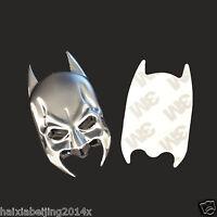 Moto Tank Fender Metal Chrome Batman Mask Badge Emblem Decal Sticker For Harley