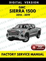 GMC Sierra 1500 2014-2019 Factory Service Repair Workshop Manual