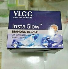 VLCC INSTA GLOW DIAMOND BLEACH CREAM FOR SPARKLING FAIRNESS 60GM