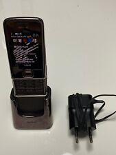 Nokia  Arte 8800 Sapphire - Braun (Ohne Simlock) Handy mit Ladestation