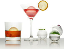 4Pcs/set Bar Whiskey Cocktails Ice Cube Ball Tray Round Maker Mold Mould Unique
