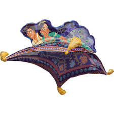 "Disney's Aladdin & Jasmine Magical Carpet Ride Foil 42"" SuperShape Foil Balloon"