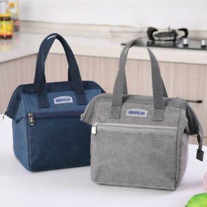 Thermal Insulated Lunch Box Bag Tote Cooler Handbag Bento Pouch Food Storage Bag