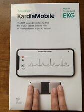 AliveCor KardiaMobile Mobile Single-Lead EKG Monitor Real-Time Detection