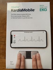 AliveCor KardiaMobile Mobile Single-Lead EKG Monitor Real-Time Detection
