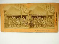 Esquimaux at the World's Fair 1893 B.W. Kilburn Stereoview