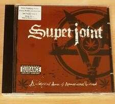SUPERJOINT RITUAL 'A LETHAL DOSE OF AMERICAN HATRED' - CD ALBUM - PANTERA / DOWN