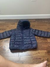 Gap Multi Sparkle 3t Outwear Puffer Jacket Girls