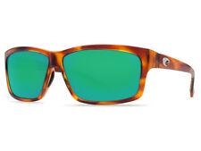 NEW Costa Del Mar CUT Honey Tortoise & 580 Green Mirror Plastic 580P