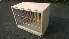 "Single Finch Breeding Cage  19"" x 15 x 12"