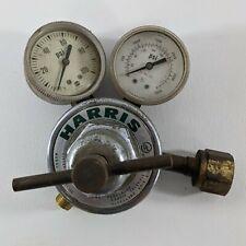 Harris 25 100 Compressed Gas Pressure Regulator With 2 Gauges