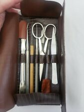 Vintage Adams Germany Dissection Kit With Case Scalpel Probe Comparative Anatomy