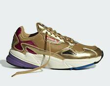 adidas Originals Falcon Schuh CG6247 Damenschuh Wolkensohle Gold Torsion Gr 40