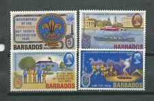Barbados Scott# 323/326 ** MNH set Boy scouts