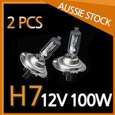 H7 Halogen Light Bulbs Headlight Globes 12V 100W Yellow Warm White CAR NEW 2PCS