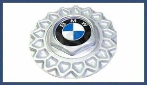 """Genuine BMW E24 E32 E34 Wheel Center Cap 15"""" 5 Cross-Spoke Wheel 36131179828"""