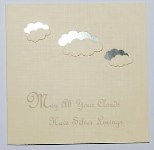 Friendship greetings card, Every Cloud has a Silver lining