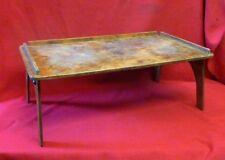 Vintage 1930 S Petit déjeuner Lit plateau table pliante jambes