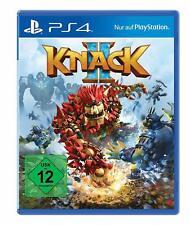 Knack 2 (Sony PlayStation 4, 2017)