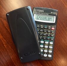 Citizen Sr-260 Scientific Calculator