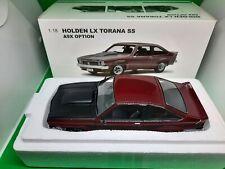 Holden LX Torana SS A9X  Madeira Red Diecast Model Car 1:18