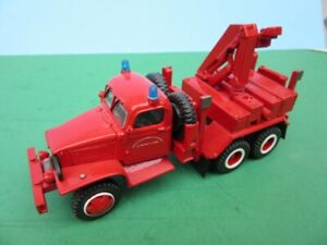 ASAM 1:48 GMC 353 LWB RECOVERY FIRE TRUCK with Crane MIB - SM02P-R
