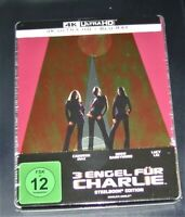 3 Ange Pour Charlie (2000) 4K Ultra HD blu ray + Limitée steelbook, Neuf
